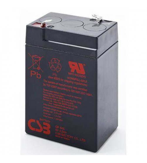 GP645 / CSB VRLA Battery 6V 4.5AH