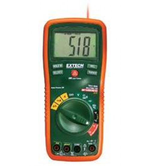 EX470: 12 Function True RMS Professional MultiMeter + InfraRed Thermometer