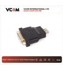 VCOM HDMI 19M/DVI 24+1F Gold Plated