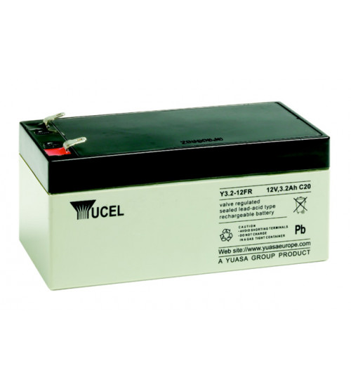 Yuasa Yucel Y3.2-12 sealed lead acid battery