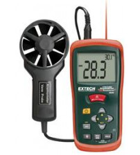 AN200: CFM/CMM Mini Thermo-Anemometer with built-in InfaRed Thermometer